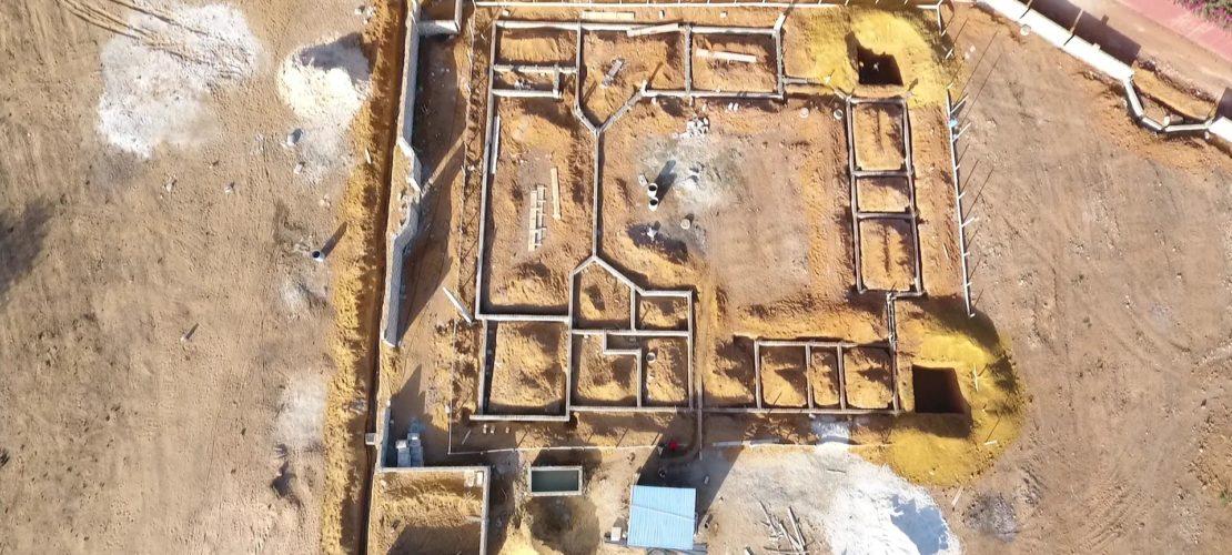 chantier drone