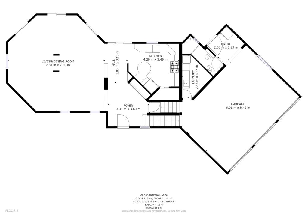 Visite Privée Plan 2D Rdc et garage