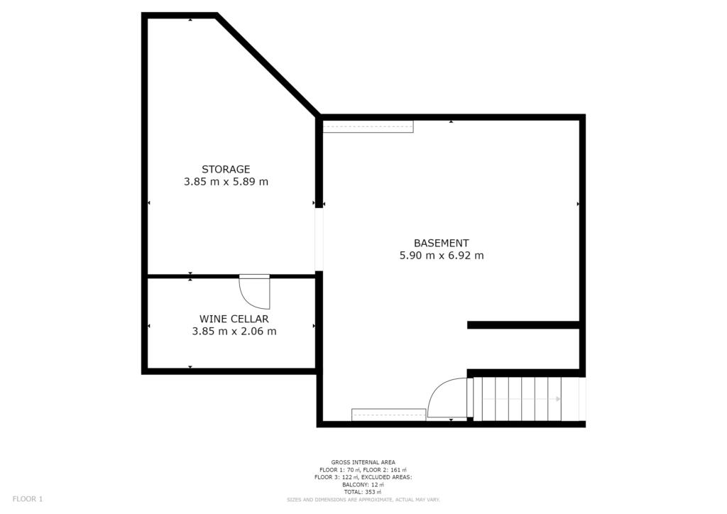 Visite Privée Plan 2D sous-sol